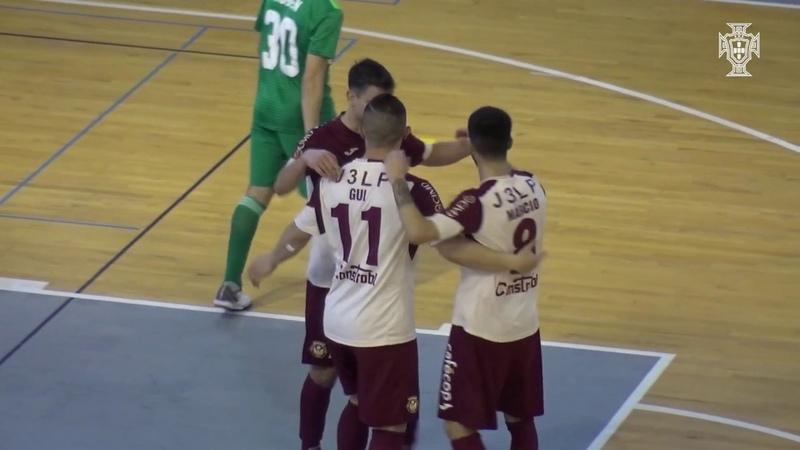 Liga Sport Zone, 19.ª jornada: AD Fundão 9-5 Leões Porto Salvo