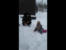 Безумно понравился снег