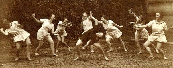 Дамы хотят веселиться и танцевать, 1920-е годы.Хотя, когда дамы не хотели веселиться и танцевать!