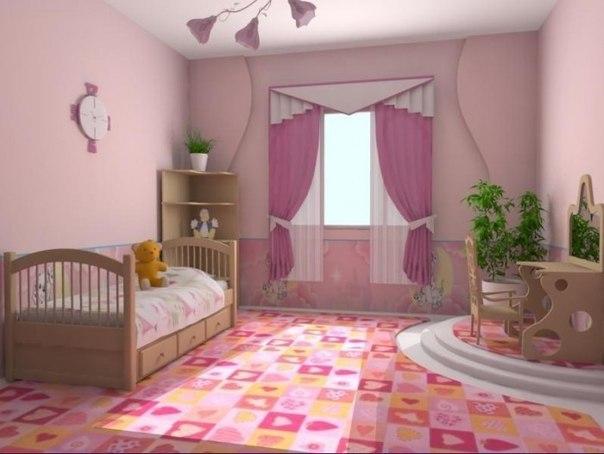 Детские комнаты vk