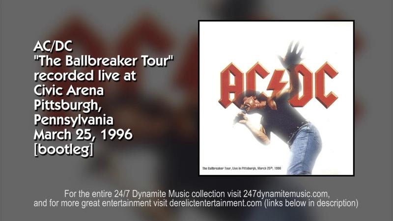 AC DC The Ballbreaker Tour 1996 FULL CONCERT BOOTLEG