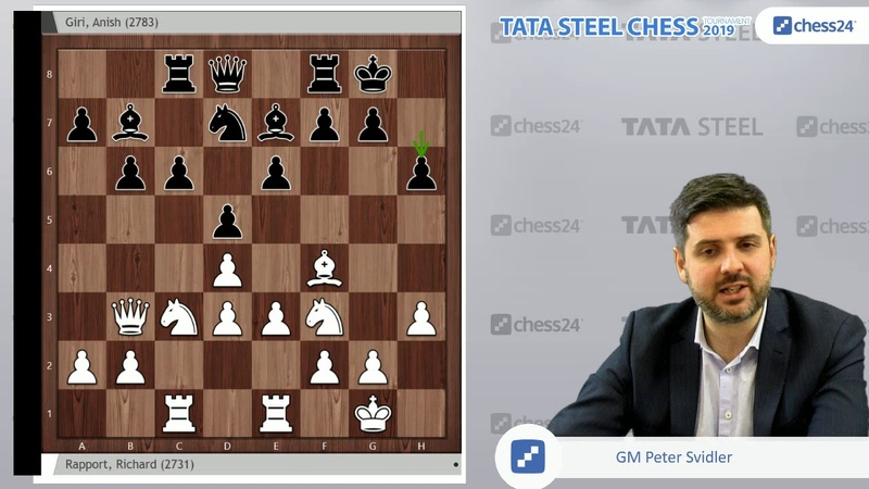 Rapport-Giri, Tata Steel Chess 2019 Svidlers Game of the Day
