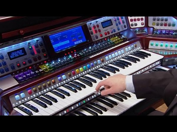 Lowrey Symphony virtual orchestra home organ