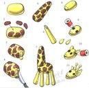 Лепим жирафа - Разбитое сердце - трагедия для тех бездарностей, которые из осколков не могут собрать жирафика.