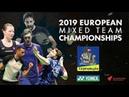 Russia (Vladimir Malkov) vs Germany (Max Weisskirchen) - Day 2- European Mixed Team C'ships 2019