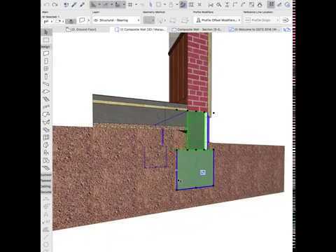 Parametric Profiles in ARCHICAD 22