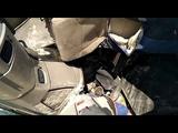 Внутри кабины фуры после смертельного ДТП под Пензой