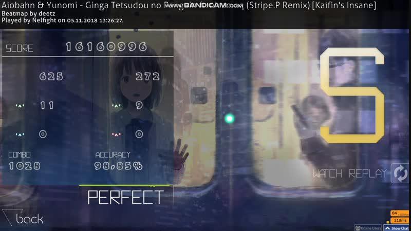 Aiobahn Yunomi - Ginga Tetsudou no Penguin ft. nicamoq (Stripe.P Remix) [Kaifin's Insane] FC