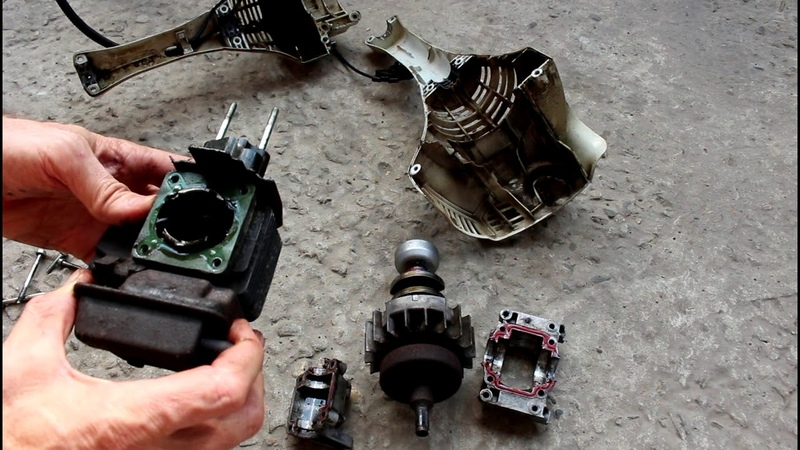 Триммер Stihl FS 55 Мотокоса Заклинил двигатель, оборвало шатун, переборка