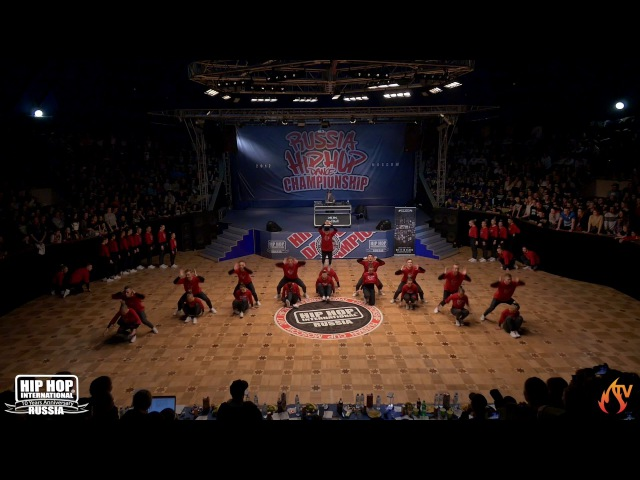 RED HAZE CREW | MEGACREW | HIP HOP INTERNATIONAL RUSSIA 10th ANNIVERSARY