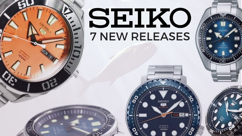 Seiko Bottle Cap, Blue Hole and Monster-esque Watches - 7 New Seiko Releases for 2018