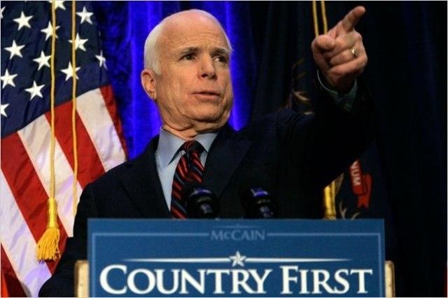 Маккейн призвал ввести войска в Венесуэлу