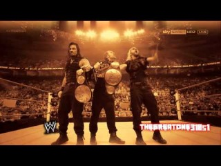 WWE The Shield Custom Titantron 2013 (1080p HD)