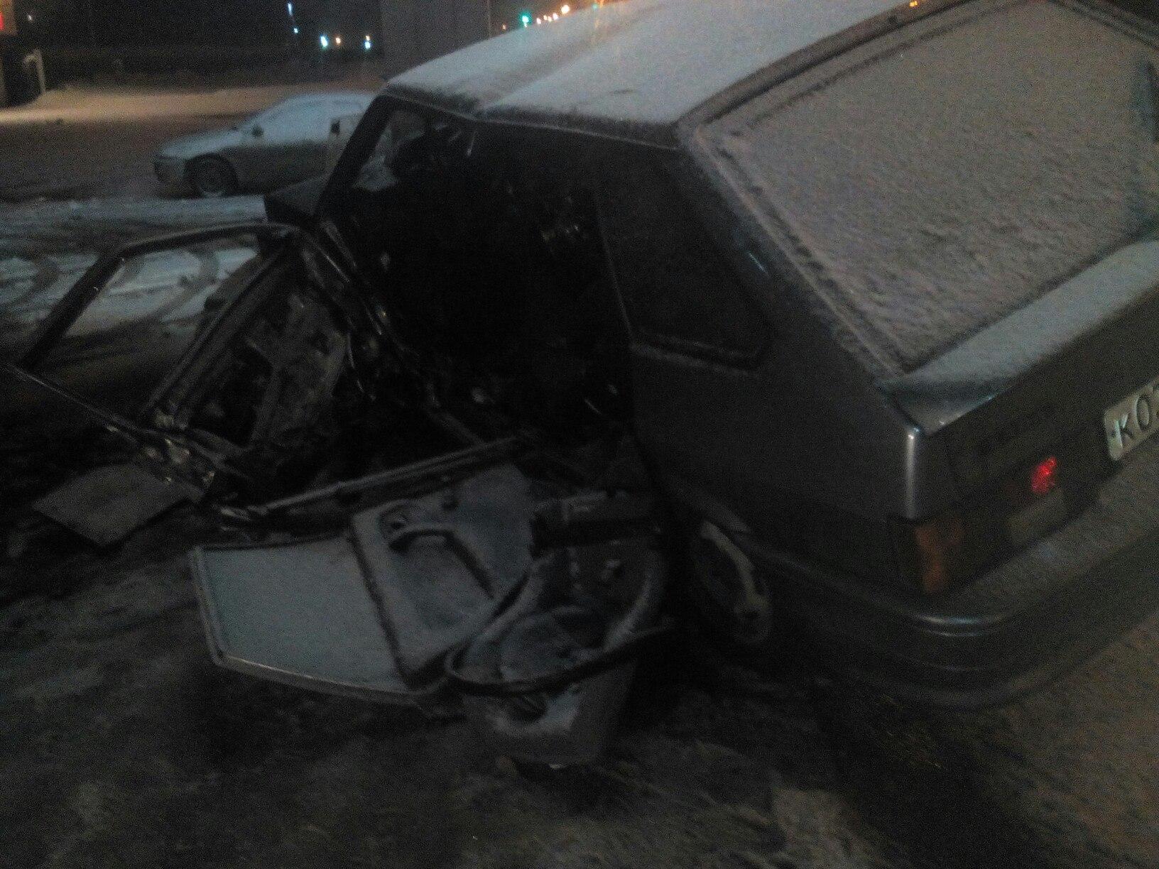 В ДТП под Уфой «четырнадцатая» протаранила три авто