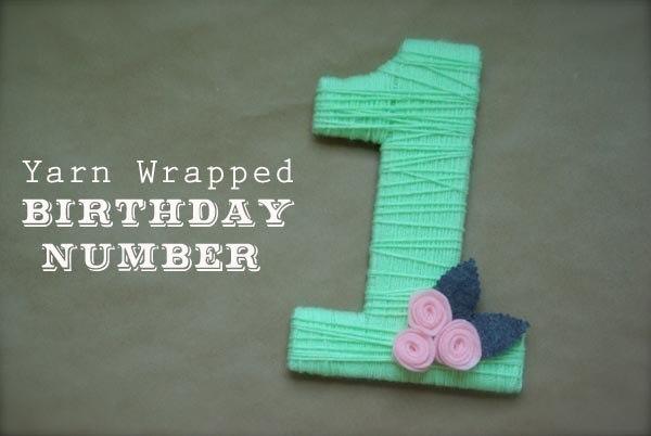 Декоративные цифры на дни рожденья. (6 фото) - картинка