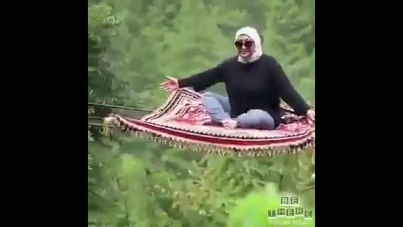 Ковер самолет в Малайзии 😁👌