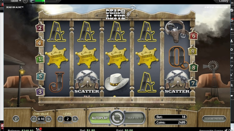 Игровые аппараты MEGA MOOLAH,DEAD OR ALIVE на ПокерСтарс!Slot Machines on PokerStars