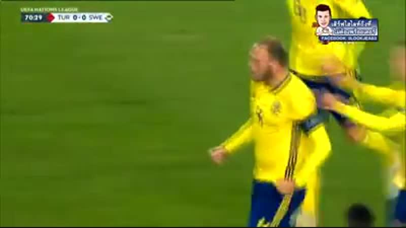 ไฮไลท์ประตู ตุรกี vs สวีเดน