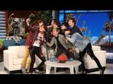 BTS вернулись: после съемок с Эллен