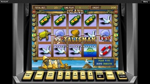 казино талисман играть
