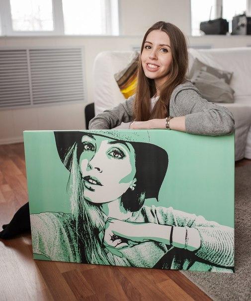 Арт портреты в подарок