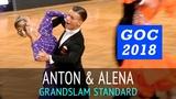 Anton Skuratov &amp Alena Uehlin Медленный фокстрот GOC2018 GrandSlam STANDARD - 3тур