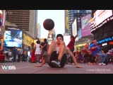 INCREDIBLE FREESTYLE SOCCER SKILLS in New York City_ Wass Freestyle Ball