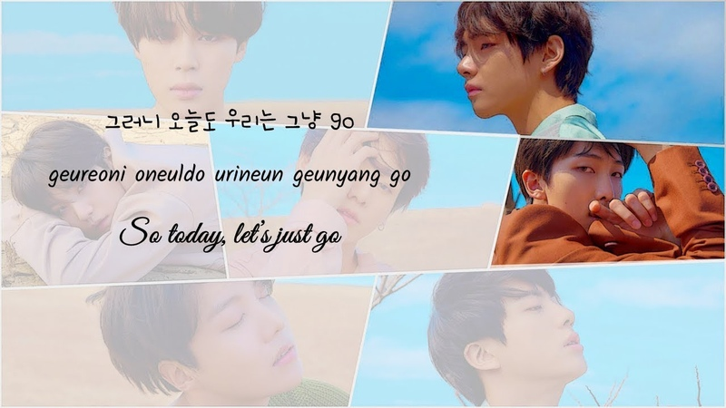 BTS - Airplane Pt 2. COLOR CODED HAN/ROM/ENG LYRICS