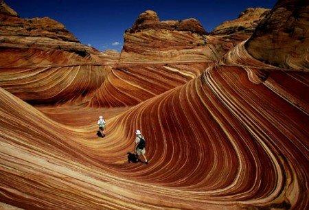 """""""Волна"""" в Аризоне, США"""