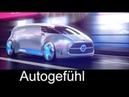 Mercedes Vision Tokyo Autonomous Electric car concept Trailer Autogefühl