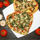 Пп-пицца с грибами