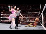 WWE RAW, 160215, Summer Rae Vs. Paige, Espa