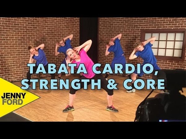 Tabata Cardio, Strength and Core 29 minute at-home workout