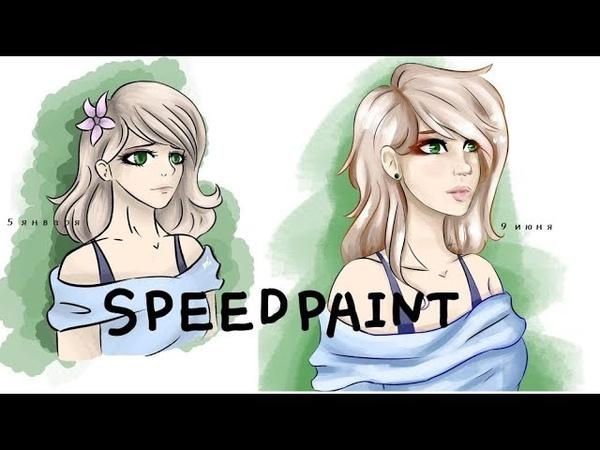 SPEEDPAINT (Перерисовываю старый арт)