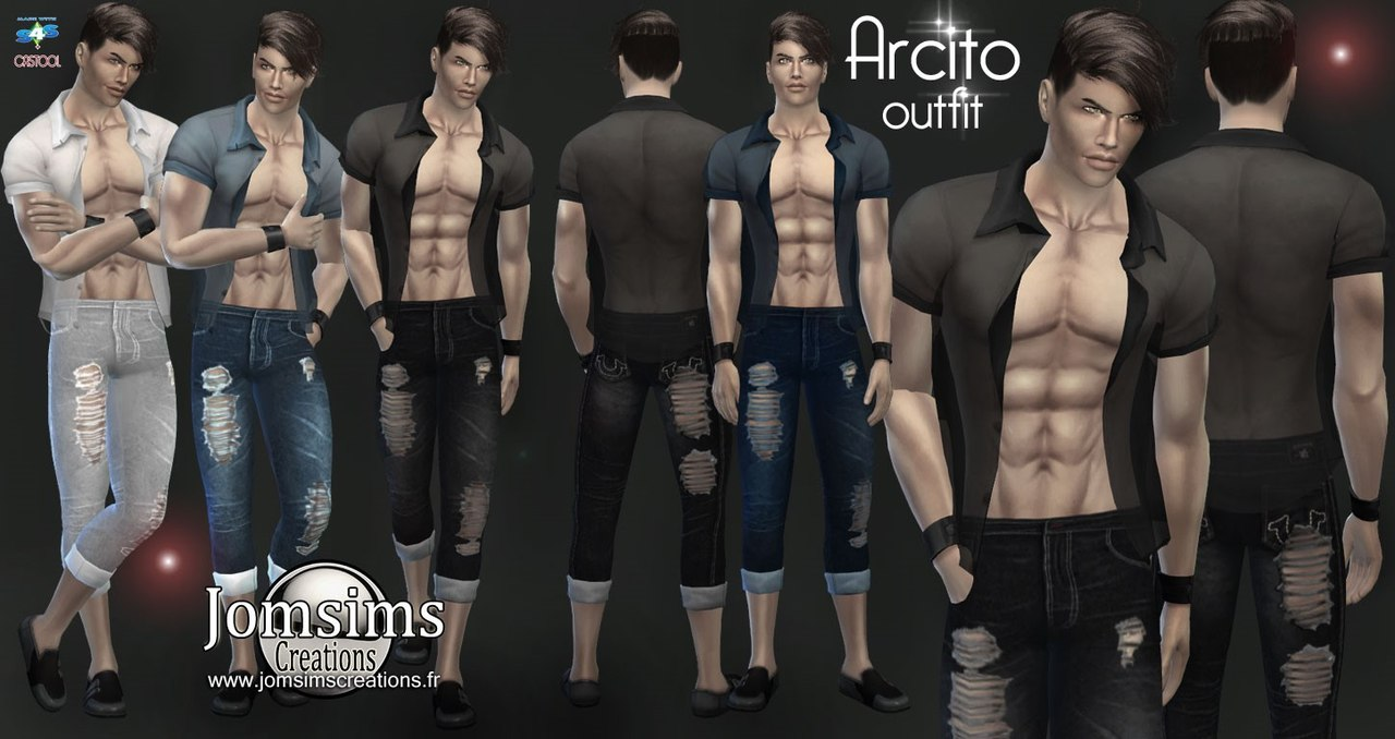 Arcito outfit by JomSims
