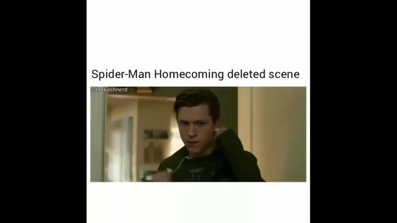 Spider man Homecoming deleted scene