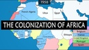 Colonization of Africa - summary from mid-15th century to 1990