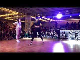 Liza zak vs неизвестно/полу-финал/everybody dancehall on danzainfiera (italiy 2019)