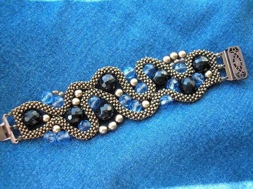 Фото браслеты из бисера