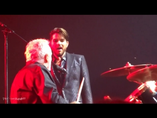 Q ueen Adam Lambert - Drum Battle, Band IntroU nder Pressure - P ark Theater - .18