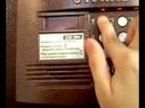 Как открыть домофон cyfral ccd 2094