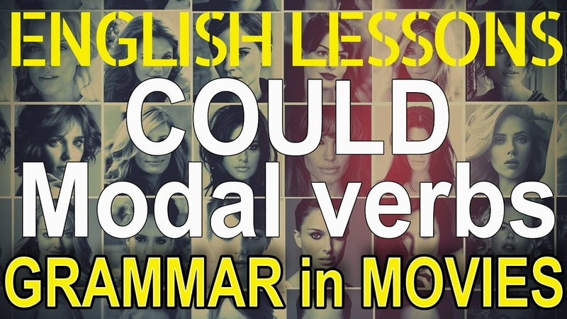 COULD Modals in English examples Hollywood English