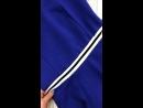 Платье синее, спорт