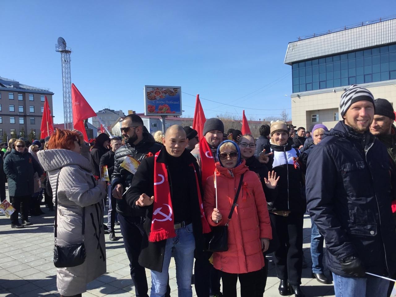 Торжества по случаю Дня Победы в Салехарде. Есть вопросы