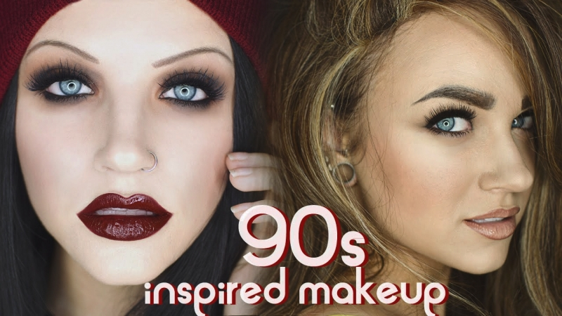 90s Grunge and Supermodel Makeup Tutorial