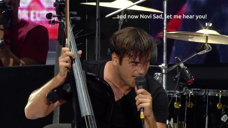 2CELLOS Satisfaction Live at Exit Festival