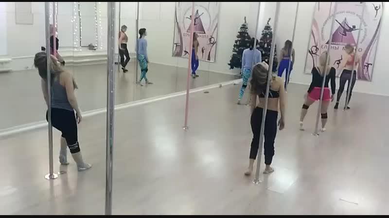 Poleography, хореография у пилона. Tanya Feel