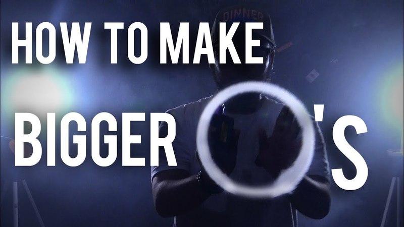 How to make BIGGER O's   Vape Tricks 💨  