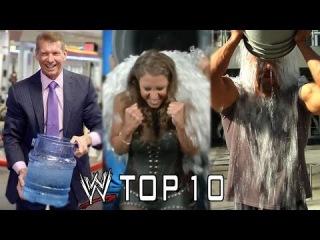 WWE Top 10 ALS Ice Bucket Challenge