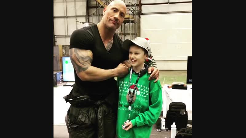 Make a wish day Hobbs and Shaw (2)